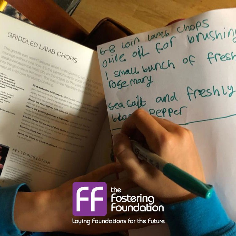 Cornwall Fostering : Planning Family Meals During Half Term