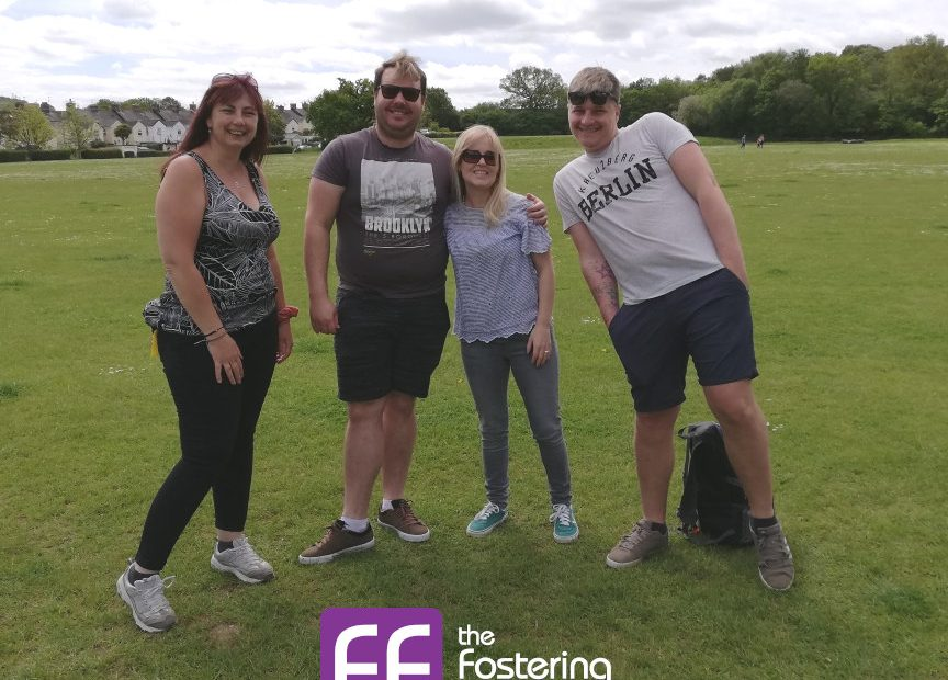 Exeter Fostering : Fun in the Sun for Exeter Region's foster carers and children.