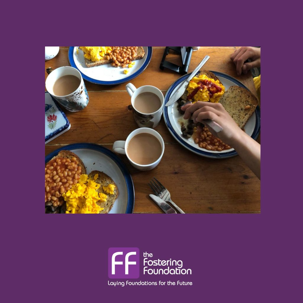 Cornwall Fostering : Making Half Term Brunch for the Foster Family