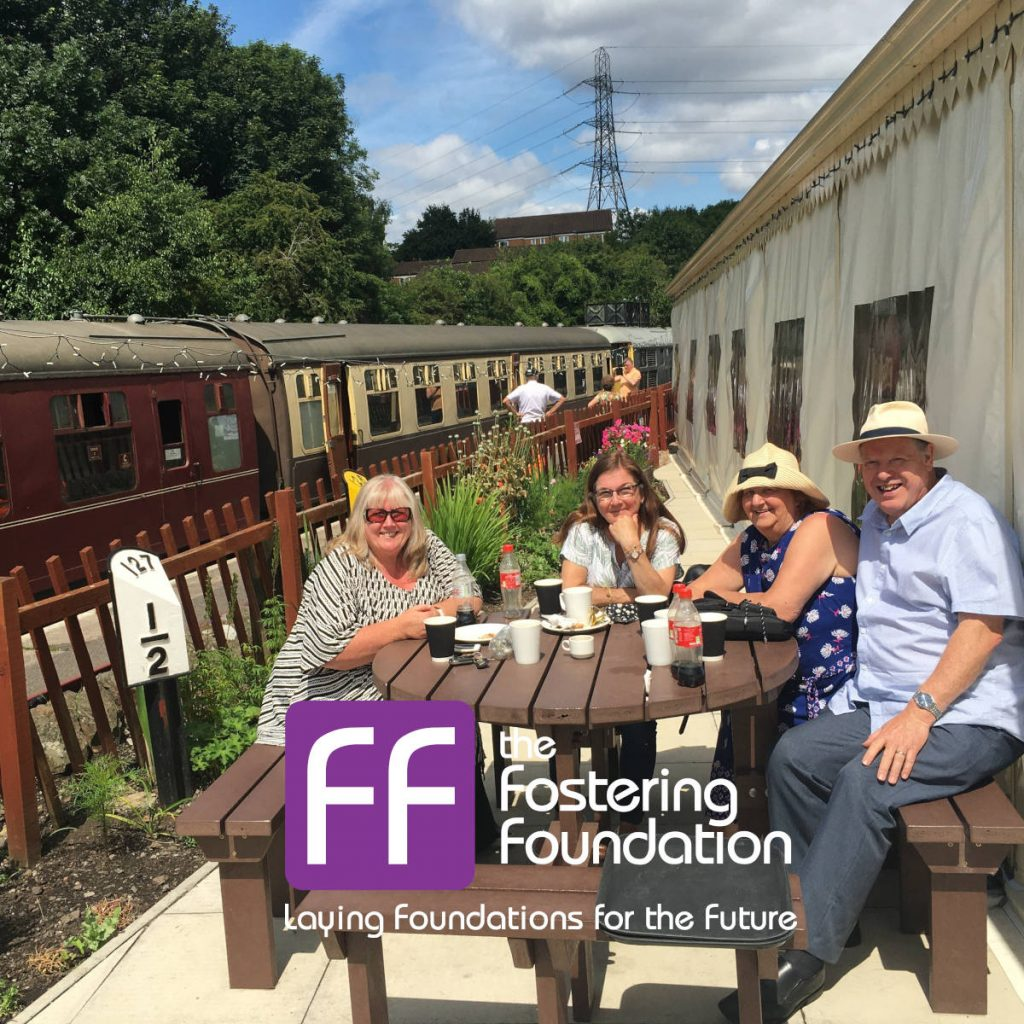Bristol Fostering Support Group meets at the Avon Valley Railway